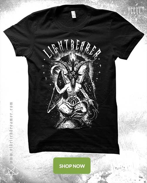 Baphomet Lightbearer - Occult Collection - Lovecraft - Shirt