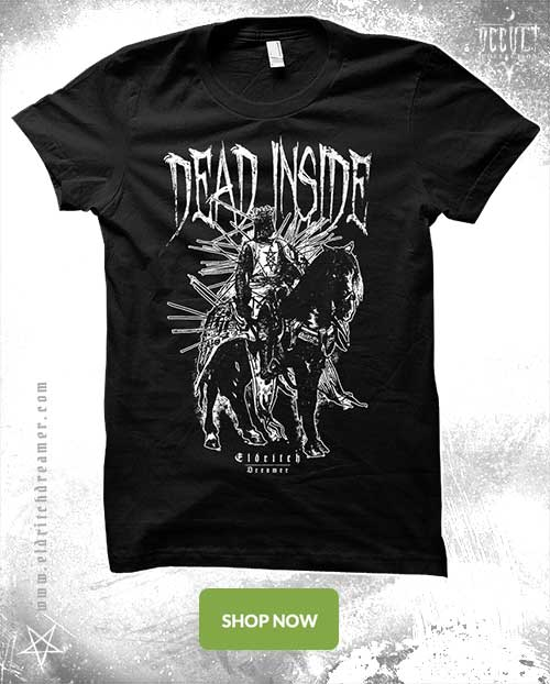 Dead inside - Occult Collection - Lovecraft - Shirt