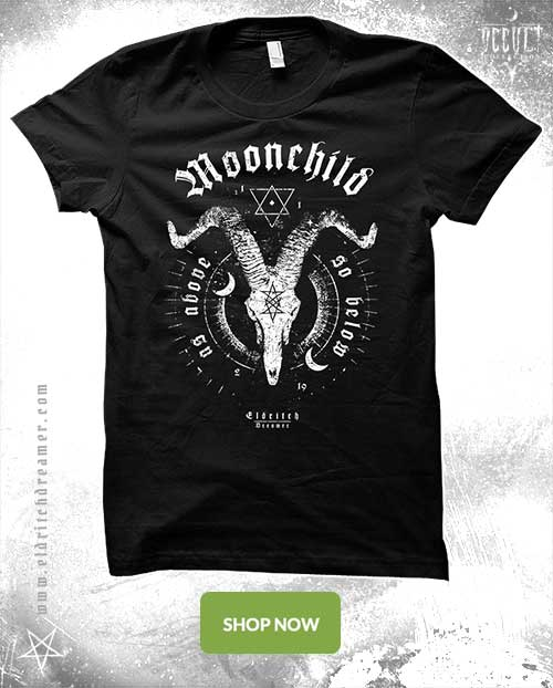 Moonchild - Occult Collection - Lovecraft - Shirt