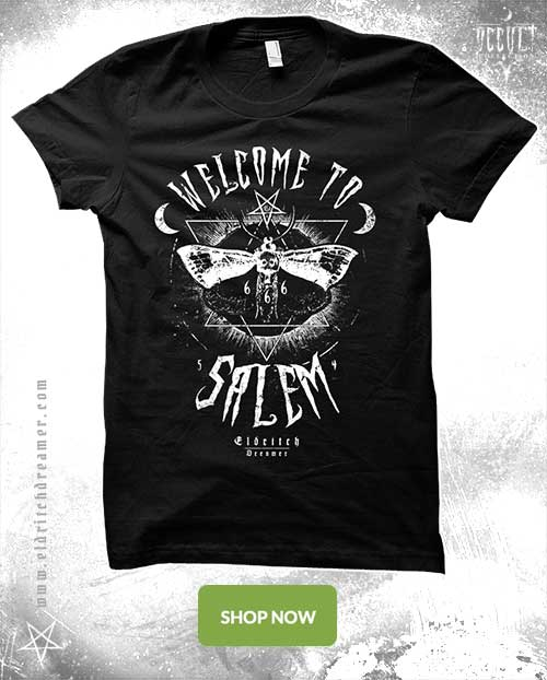Welcome to Salem - Occult Collection - Lovecraft - Shirt